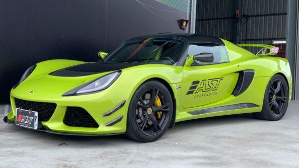 Lotus Exige MK3 on AST suspension